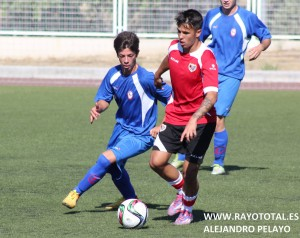 Héctor, otro juvenil con el Rayo Majadahonda