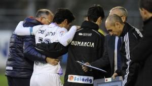 Es la segunda lesión de Del Pino y esta vez acude a Majadahonda