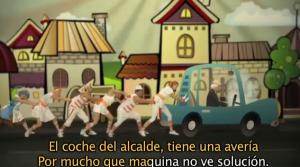 """""""La Kalabaza de Pippa"""" interpretando """"El coche del alcalde"""""""