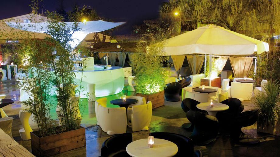 Terraza del Restaurante Goa en Majadahonda