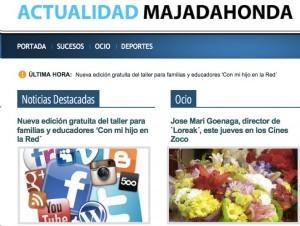 """El diario """"zombie"""" de De Pedro en Majadahonda: visitas con robots, notas de prensa..."""