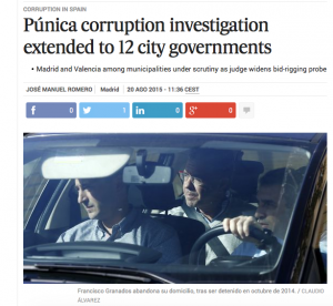 corruption in spain