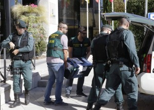 La UCO de la Guardia Civil, en pleno operativo