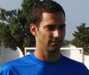 El futbolista Iray