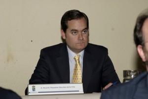 El teniente de alcalde y concejal, Ricardo Riquelme (PP)