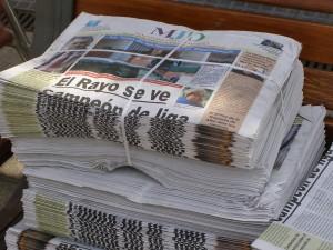 La célebre edición en papel, número de coleccionista que se repetirá