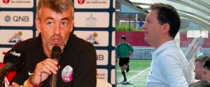 Oscar Fdez y Miguel Cerdán: duelo de entrenadores
