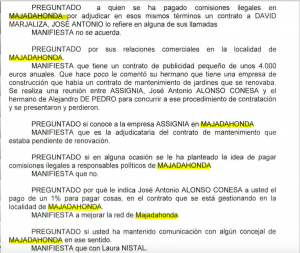 Declaracion De Pedro Assignia Nistal