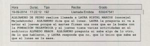 Llamada De Pedro Laura Nistal 4