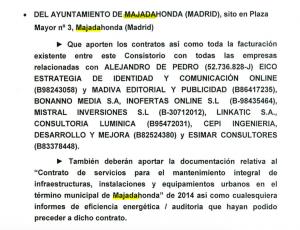Peticion de contratos a MJD