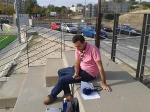 Badajoz Deportes retransmitió el encuentro por radio y redes