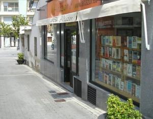 Fachada librería Altazor
