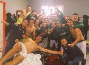 El Toledo celebró la victoria a lo grande