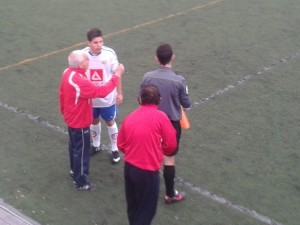 Pedro Calvo vuelve a pie de campo