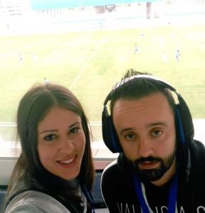 Virginia Sánchez y Tony Aranjuez