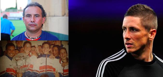 Pedro Calvo entrenó a Fernando Torres en la cantera atlética