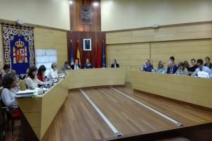Pleno del nuevo ayuntamiento de Las Rozas