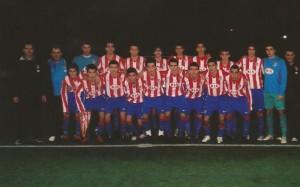 Equipo del At. Madrid donde debutó Munir