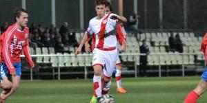 Junior, el jugador del Rayo Vallecano