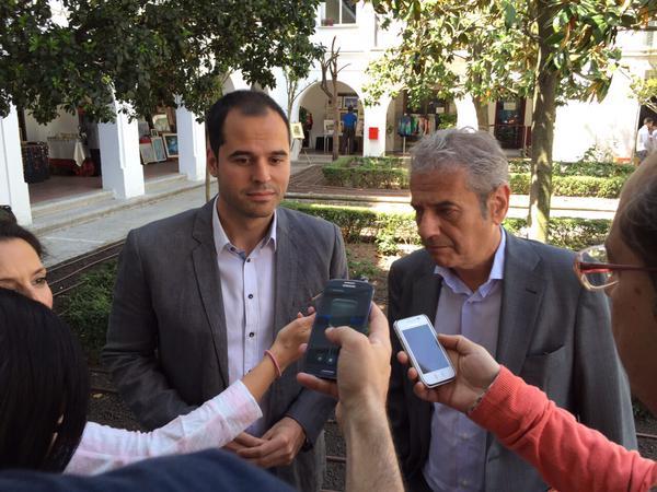 Ignacio Aguado y Alfonso Reina