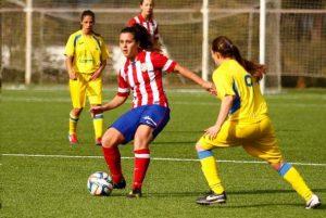 Atlético Féminas B frente al FF La Solana