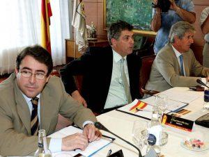 Jorge Pérez y Angel María Villar