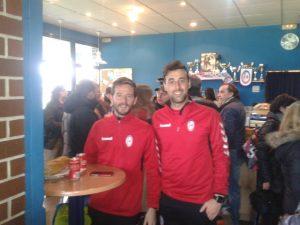 Manu Alcázar y Alberto Álvarez