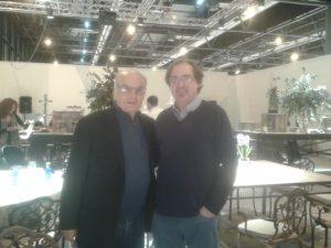 Luis Gordillo y Federico Utrera, en Arco 2016