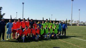 La selección juvenil rumana