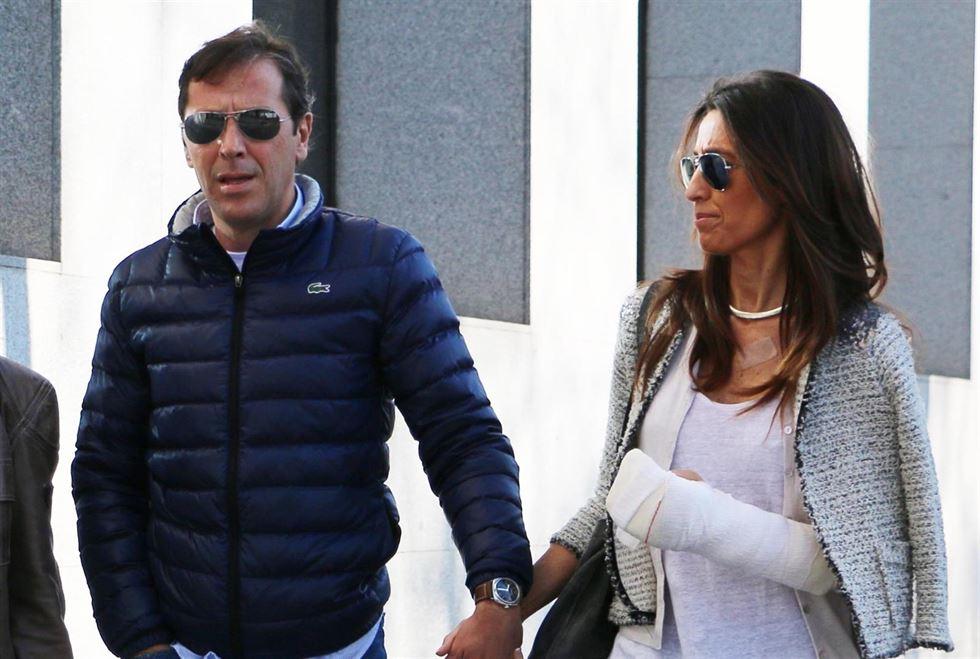 Pco González y su esposa