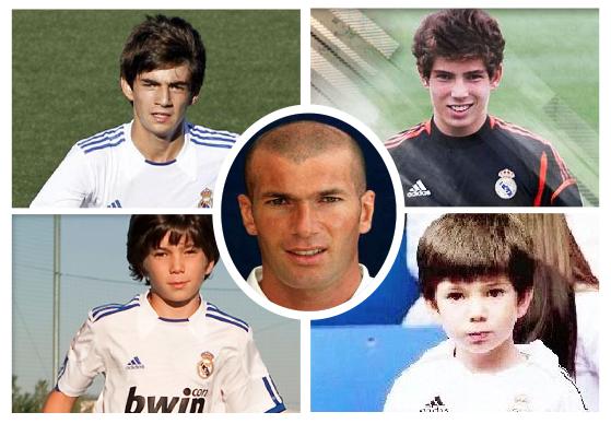 los-4-hijos-futbolistas-de-zinedine-zidane