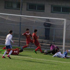El Sur de Valladolid salva un gol en la raya