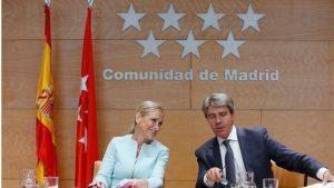 Cristina Cifuentes y Angel Garrido