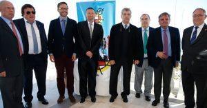 Narciso de Foxá, con Villar y Vedia en Baleares