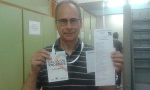 Alberto Moreno, portavoz de Somos y Podemos Majadahonda