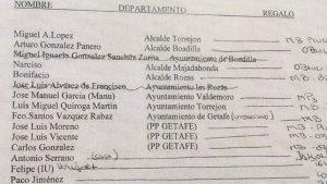 El documento de Marjaliza que ha desatado la polémica