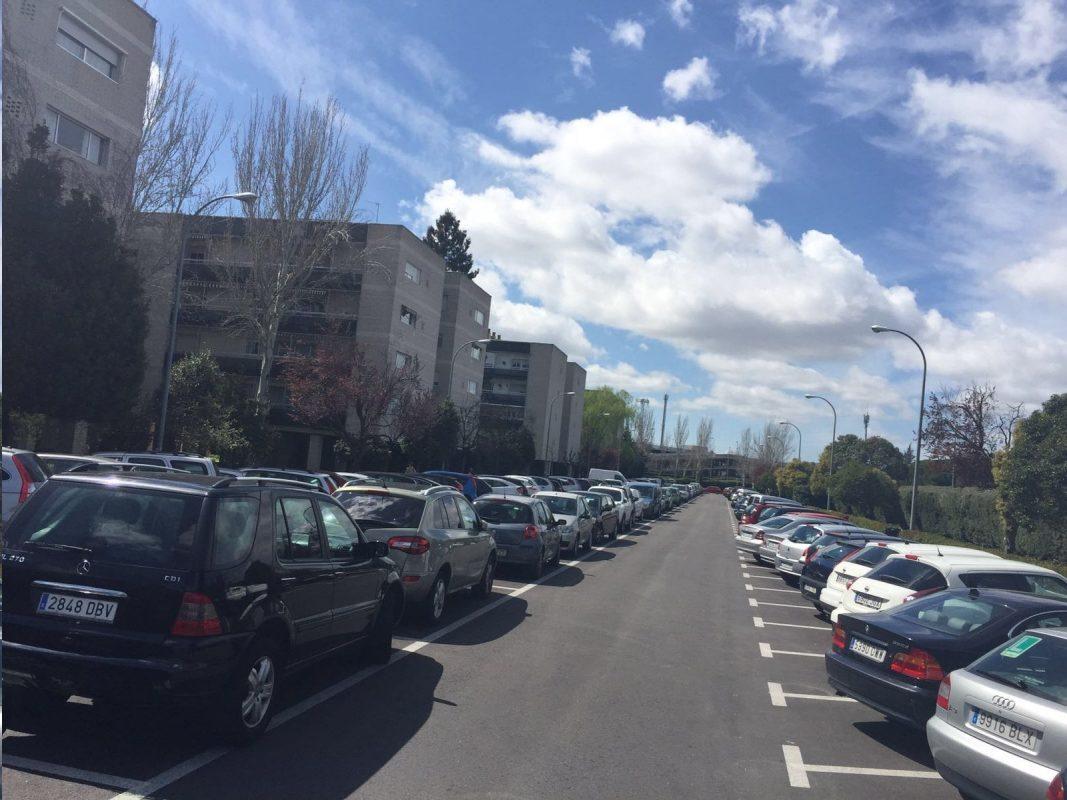 Renfe prepara la mejora y ampliaci n del aparcamiento de for Nelson honda el monte