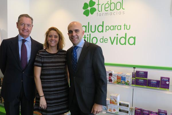 """Trébol Majadahonda y el arriesgado """"salto"""" de la farmacéutica Paloma García Valiente"""
