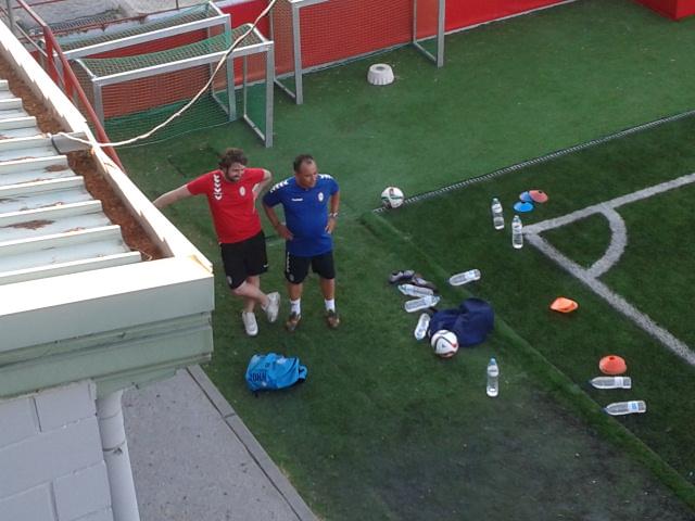 El equipo técnico