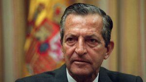 Adolfo Suárez, en la presentación del libro
