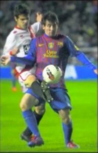 Aitor Nuñez y Messi