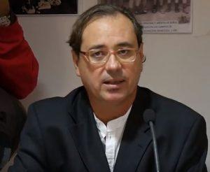 Federico Utrera, en la presentación