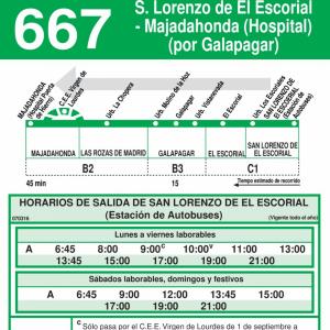 horario-vuelta-linea-667-majadahonda-las-rozas-el-escorial