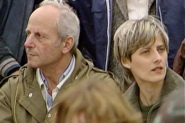 El general Bastian y Petra Kelly