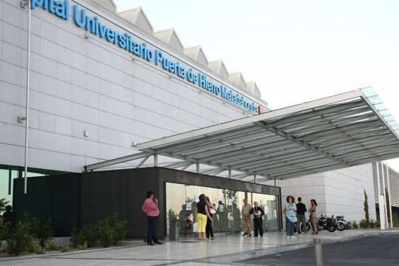 Puerta de hierro majadahonda consigue para for Puerta k hospital clinico san carlos