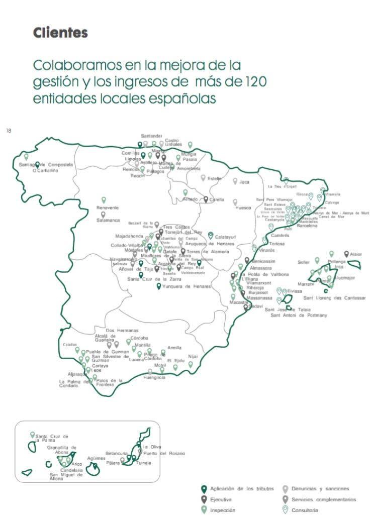 Mapa elaborado por IU