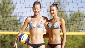 Olga Mateeva y su hija Tania