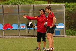 Pablo Fontes, con la Selección