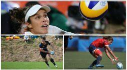 Pablo Fontes, María Casado y Elsa Baquerizo siguieron las Olimpiadas con Majadahonda Magazin