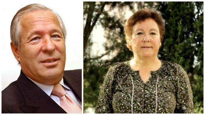 Romero de Tejada (PP) y Enedina Alvarez (PSOE)